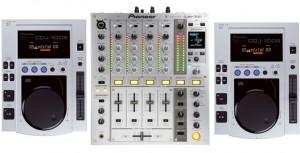 Verhuur DJ Set Pioneer CDJ100